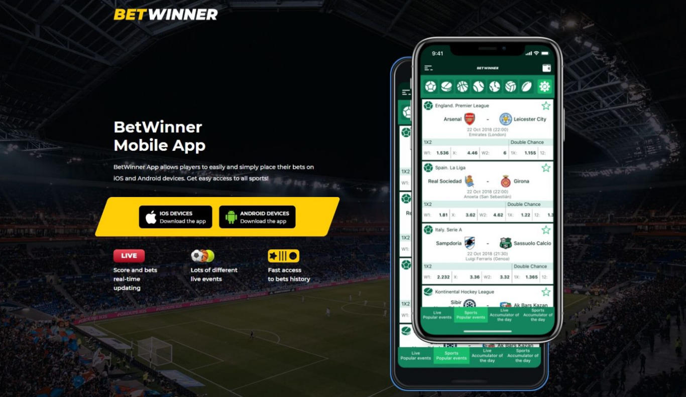 Everything about BetWinner apk download